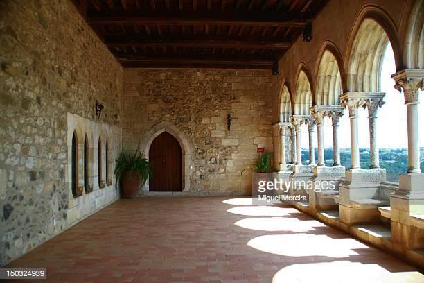 palace of d. john i - leiria district stock photos and pictures