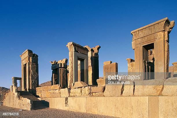 Palace of Darius Persepolis Iran Achaemenid civilisation 6th5th century BC Detail