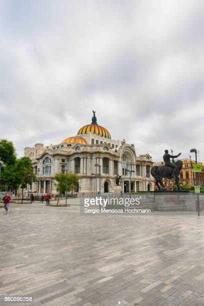 palace of fine arts - palacio de bellas artes - mexico city, mexico - day of the week stock pictures, royalty-free photos & images