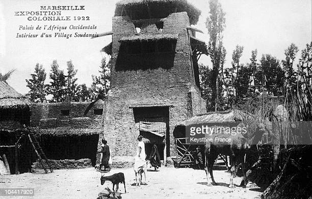 Palace Of French Western Africa Sudanese Village