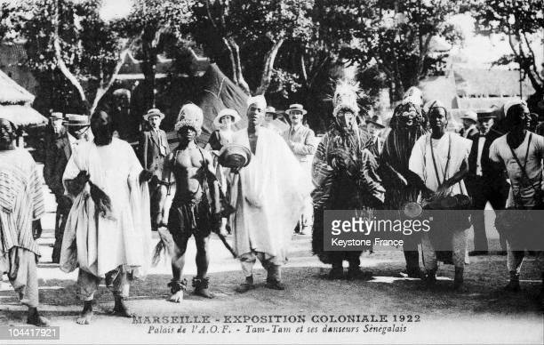 Palace Of French Western Africa TamTam And Senegalese Dancers