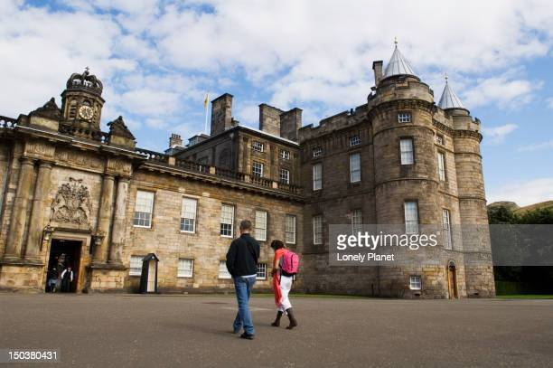 Palace of Holyroodhouse, Holyrood district.