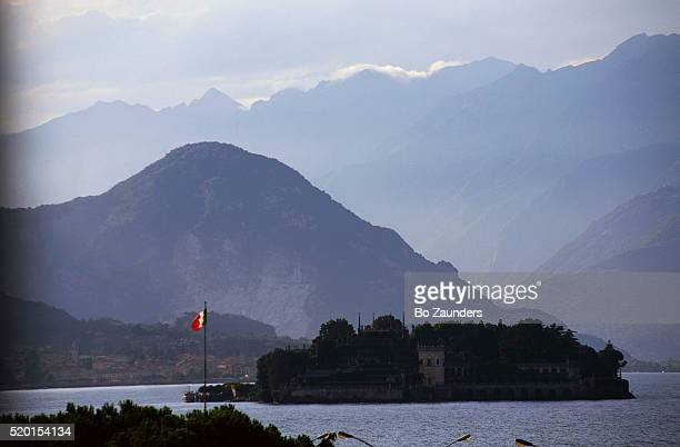 Palace of Isola Bella on Lake Maggiore