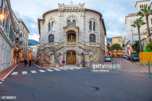 palace of justice - monte carlo, monaco - monte carlo stock pictures, royalty-free photos & images