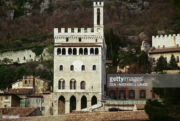 Palace of the Consuls, 1332-1349, Gubbio, Umbria. Italy, 14th century.