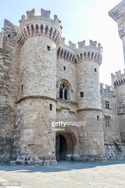 Palace of the Grand Master of Knights in Rhodes, Greece