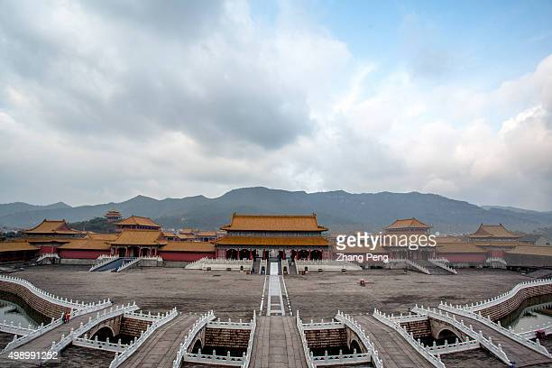 Palace of the Ming and Qing Dynasties a 11 replica of Beijing Forbidden city and first built in 1998 is the largest section in Hengdian world studio...