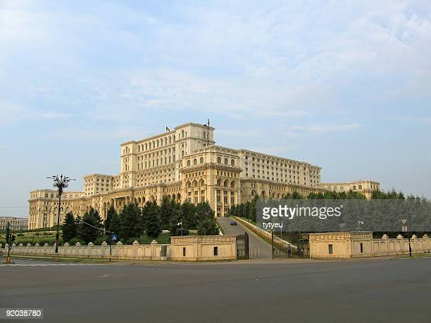 Palace Of The Parliament - angle view