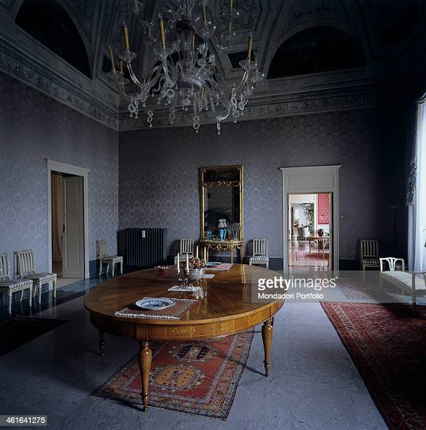 Palace of the Prefecture in Ravenna former Apostolic Palace 13th 18th Century Italy Emilia Romagna Ravenna Whole artwork view Interior of one of the...