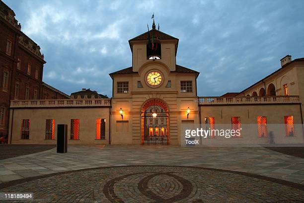 reggia di venaria reale - palazzo reale foto e immagini stock