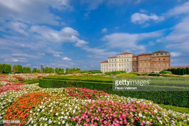 ヴェナリア宮殿、ヴェナリア王宮、トリノ、イタリア - ヴェナリーアレアーレ ストックフォトと画像