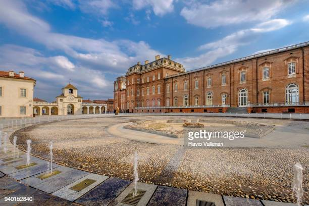 palace of venaria, reggia di venaria reale, turin, italy - venaria reale stock photos and pictures