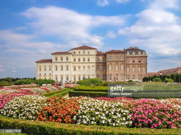 ヴェナリア宮殿,トリノ,イタリア - ヴェナリーアレアーレ ストックフォトと画像