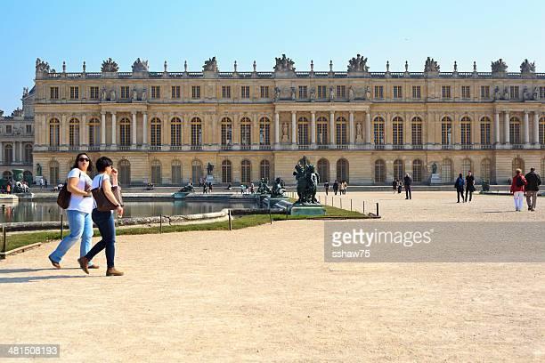Palace of Versailles Tourists