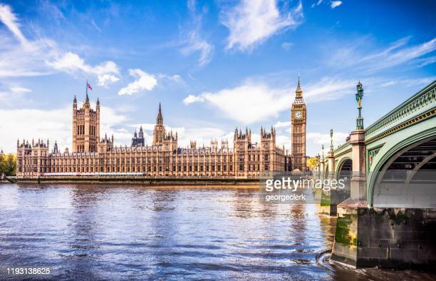 palace of westminster, centre of british democracy - skyline stock pictures, royalty-free photos & images
