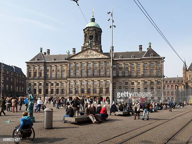 Palace on the Dam, Amsterdam, Holland