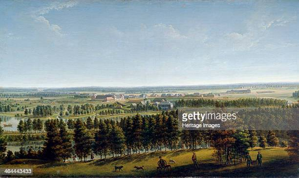 'Palace Park as Seen from the Gatchina Palace' 1790s Gatchina Palace in St Petersburg was built between 1766 and 1781 for Count Grigori Grigoryevich...