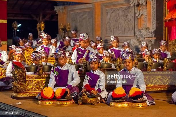 Palace Performance in Ubud, Indonesia