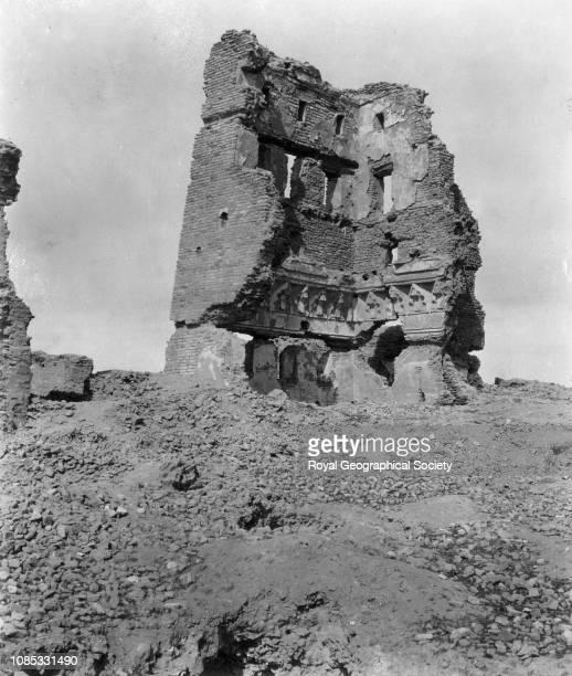 Palace ruins at Raqqa, Syria.