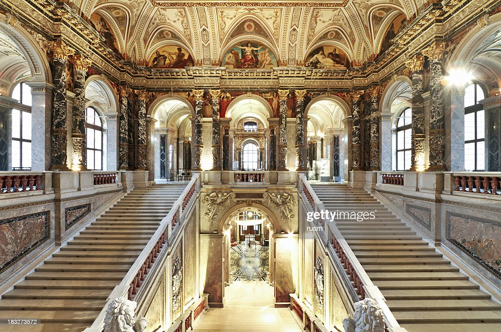 Palace staircase : Stock Photo