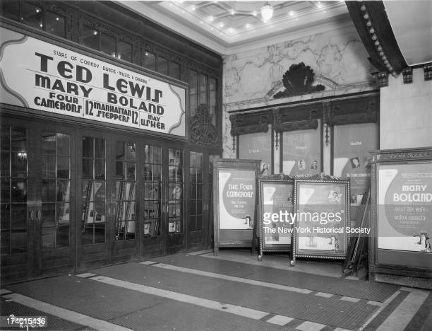 Palace Theater Broadway and 47th Street New York New York 1920s