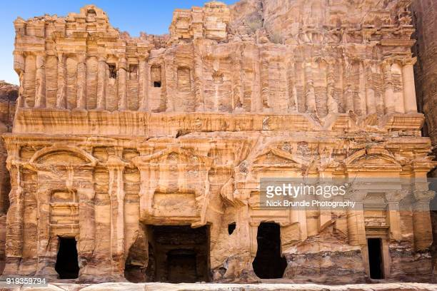 Palace Tomb, Petra, Jordan.