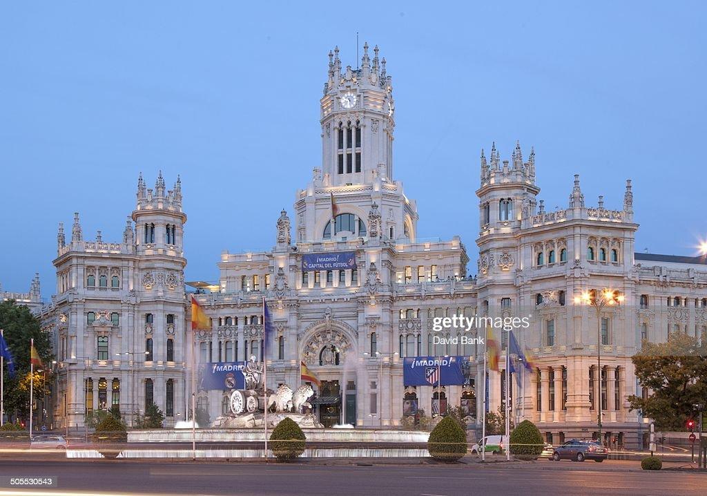 Palacio De Cibeles Madrid High Res Stock Photo Getty Images