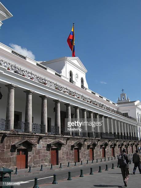 El Palacio de Gobierno Palacio presidencial, Quito, Ecuador