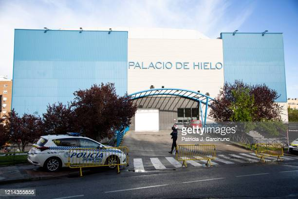Palacio de Hielo mall whose ice rink will be used as a morgue due to local funeral homes being over capacity due to COVID19 on March 23 2020 in...