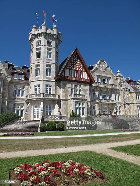 Palacio de la Magdalena in Santander this is an eclectic style palace with English influences built between 1909 and 1911 by public subscription to...
