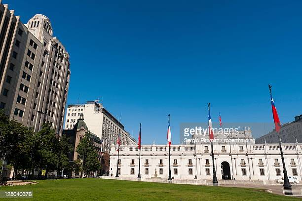 Palacio de la Moneda, Santiago, Chile, South America
