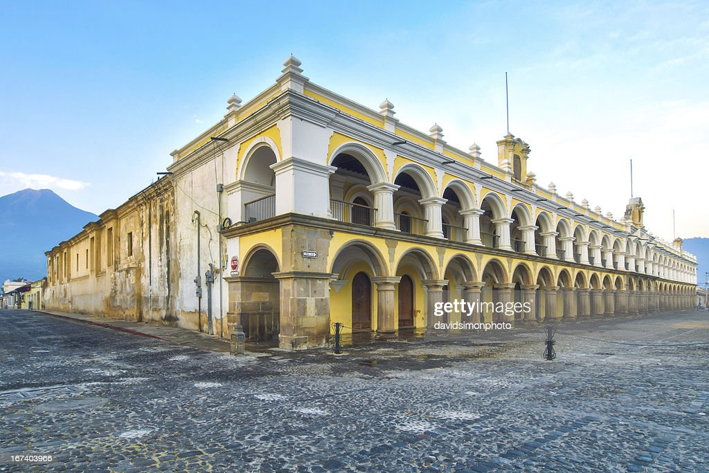 Palacio de los Capitans Antigua, Guatemala : Stock Photo