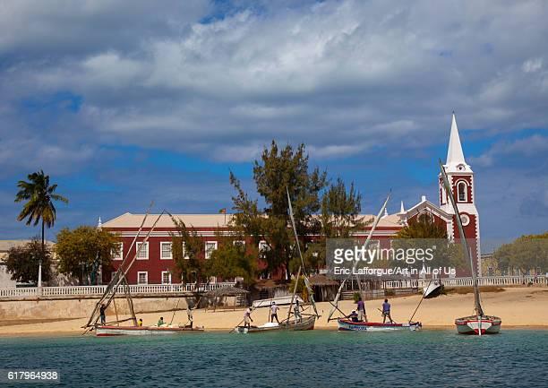 Palacio de sao paulo museum, island of mozambique, Mozambique on July 18, 2013 in Island Of Mozambique, Mozambique.