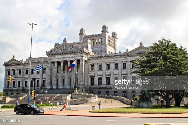 palacio legislativo - montevideo stock pictures, royalty-free photos & images