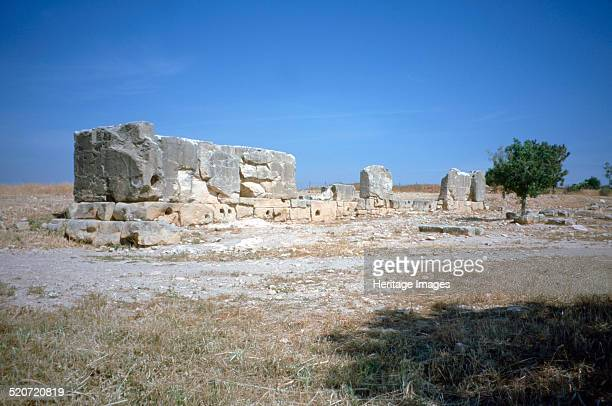 Palaepaphos , Cyprus, 2001. Paphos has been inhabited since neolithic times. It was an important centre for the worship of the goddess Aphrodite, who...