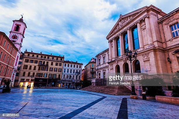 Palais de Justice in Nice, France