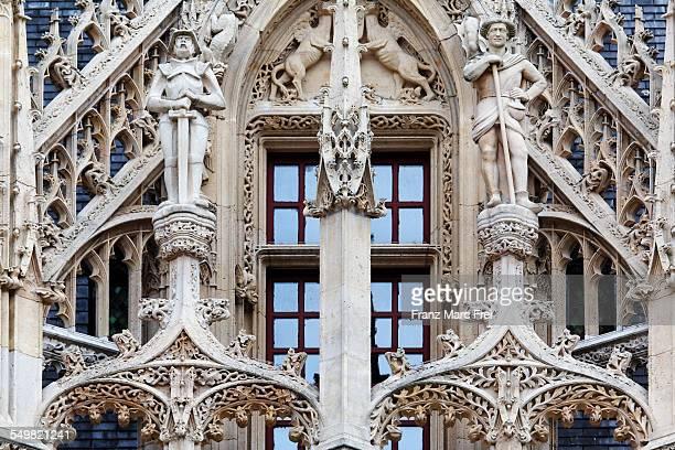 palais de justice, rouen - rouen stock pictures, royalty-free photos & images