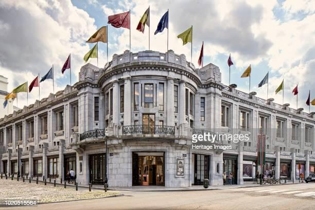 Palais Des Beaux Arts, Rue Ravenstein/rue Baron Horta, Brussels, Belgium, circa 2014-2017. Designed by Victor Horta.