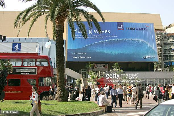Palais des Festivals during 2004 MIPCOM - Atmosphere in Cannes, France.