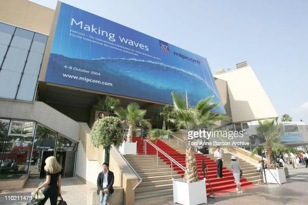 Palais des Festivals during 2004 MIPCOM Atmosphere in Cannes France