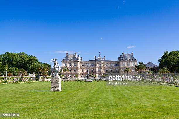 palacio de luxemburgo, parís. - luxemburgo fotografías e imágenes de stock