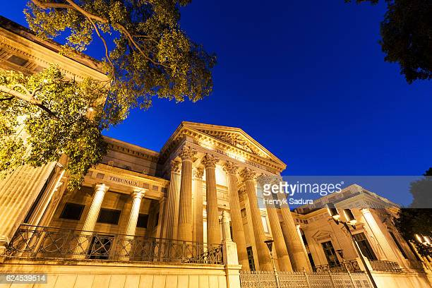 Palais of Justice in Nimes