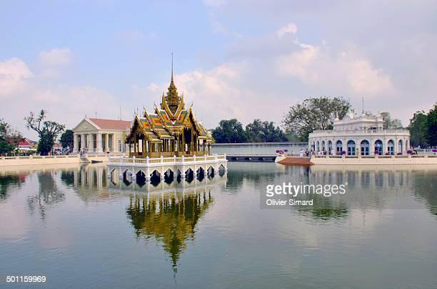 """Palais royal de Bang Pa-In"""" Thaïlande Thailand """"Chao Phraya"""" Ayutthaya """"Rama V"""" Chulalongkorn """"pavillon flottant"""" """"Bang Pa-In Royal Palace"""" Asie Asia..."""