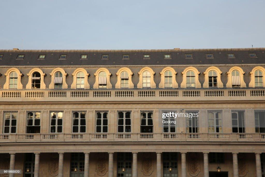 Palais royal. : News Photo