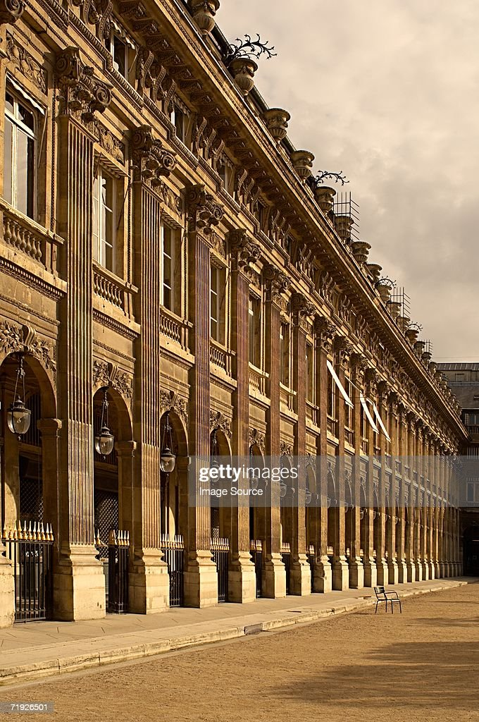 Palais royal paris : Stock Photo