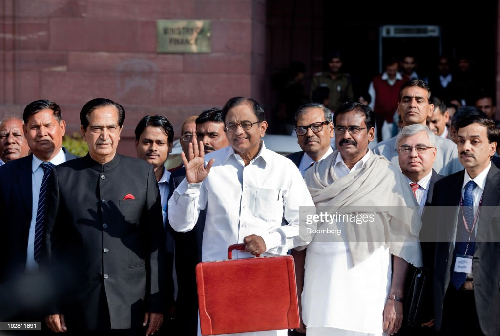 India Finance Minister Palaniappan Chidambaram Presents Budget