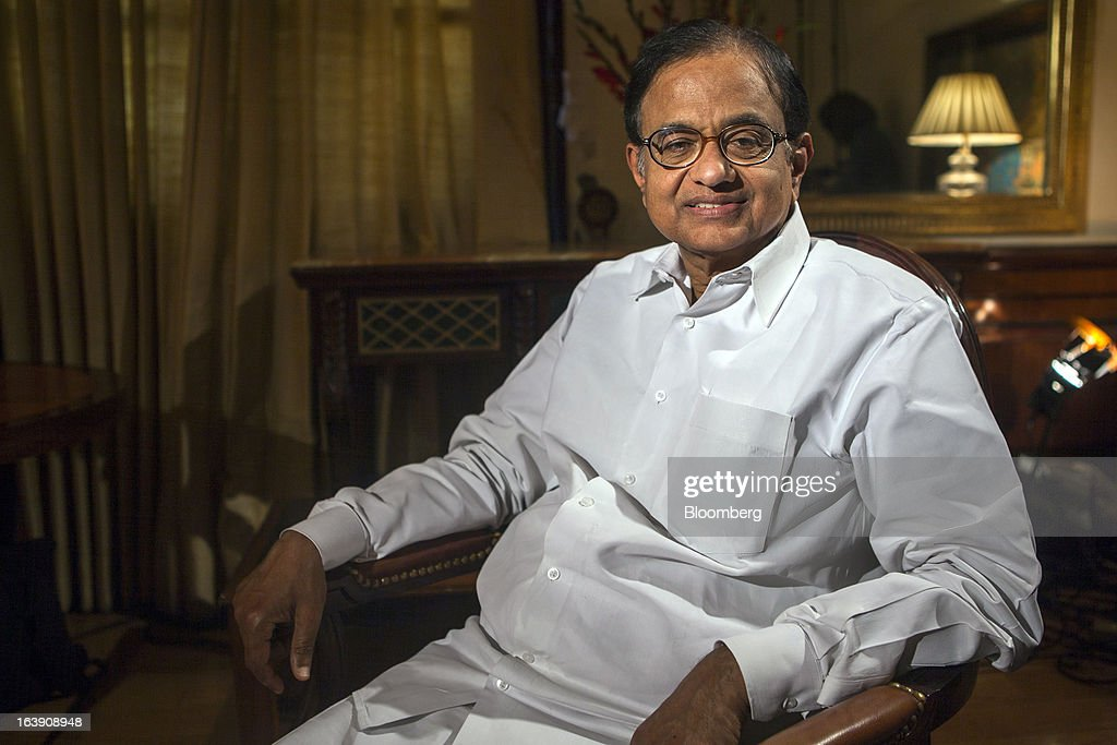 India Finance Minister Palaniappan Chidambaram Interview