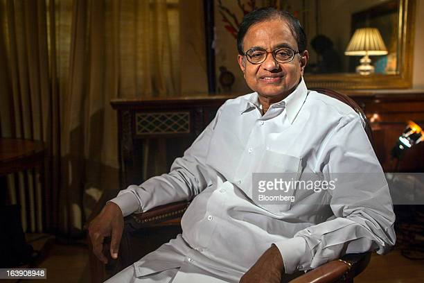 Palaniappan Chidambaram India's finance minister poses for a photograph in New Delhi India on Friday March 15 2013 Chidambaram said the nation may...