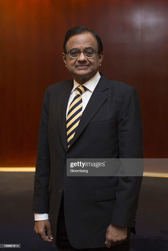 Indian Finance Minister P. Chidambaram Holds Briefing