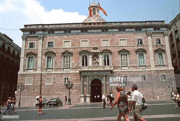 Palast der Landesregierung auf der Placa deSant Jaume 1999